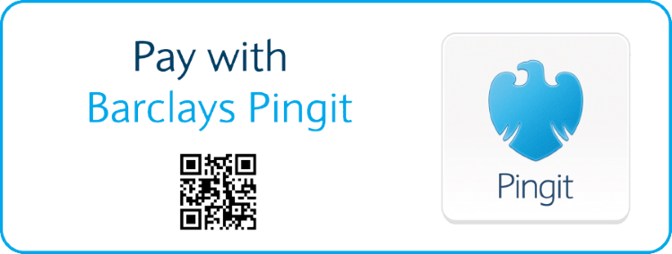 Pay with Barclays Pingit